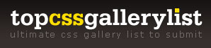 Top CSS Gallery List - CSS Gallery Submission