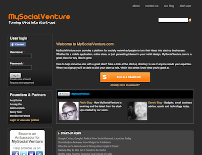 mysocialventure.com