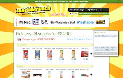 snackandmunch.com