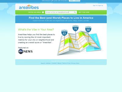 AreaVibes - Ranking for Cities and Neighborhoods