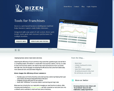 Bizen.com - Business Intelligence for Franchises