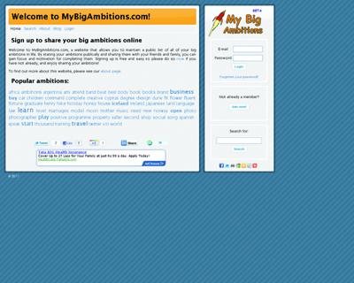MyBigAmbitions.com