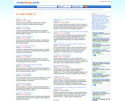 JobAnyJob.com - Job Search Aggregator