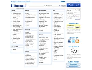 Bonsoni.com Buy Online Sell Online Independently