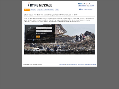 DyingMessage.com