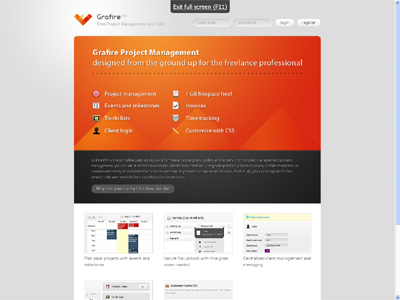 Grafire.com - Project management for Freelancers