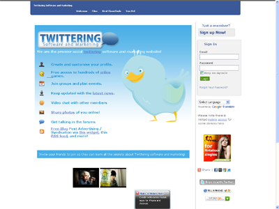 Twitteringsoftwareandmarketing.com