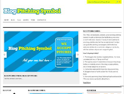 BlogPitchingSymbol.com
