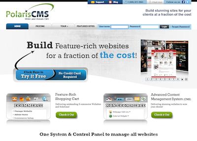 Polaris CMS Screenshot