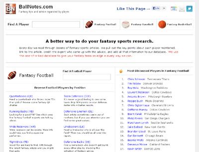 BallNotes.com