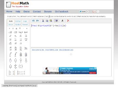 HostMath.com