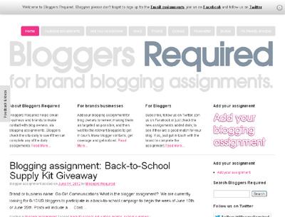 BloggersRequired.com