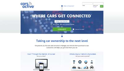 Social network for cars carsactive - Portal entree ownership ...