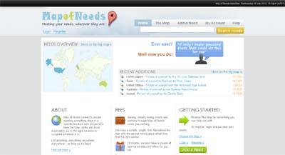 MapofNeeds.com
