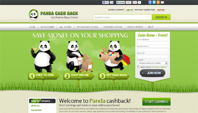 PandaCashBack.com