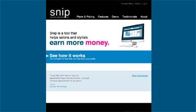 SnipSalonSoftware.com