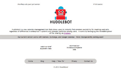 Huddlebot.com