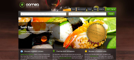 Post image for Restaurant Review Platform – Oomea